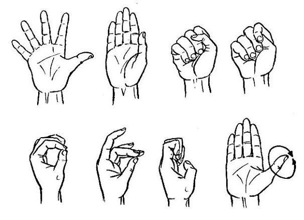 Упражнения для суставов рук